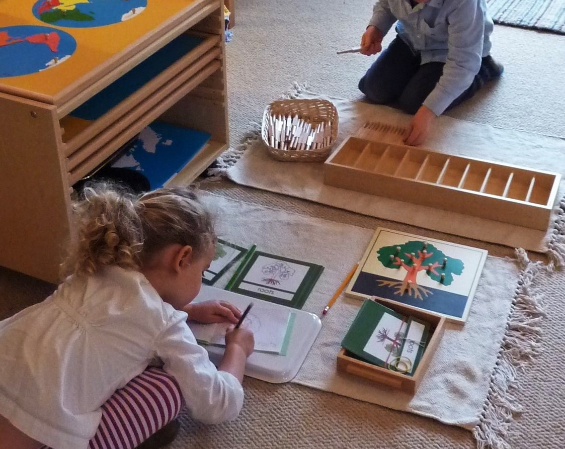 montessori life and works The child needs adults to expose him to the possibilities of his life, but the child   he works, however, not as an adult for completion of a job, but the sake of an.